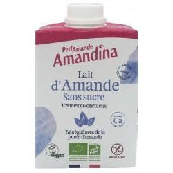 BOISSON AMANDE SANS SUCRE AMANDINA 50CL