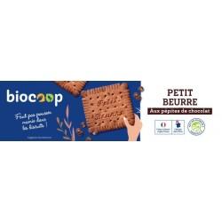 BISCUIT PETIT BEURRE CHOCO PEPITES 140G