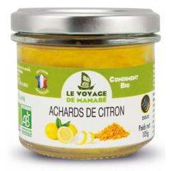 ACHARDS DE CITRON 200 GRS