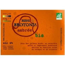 BIÈRE AMBREE 75CL