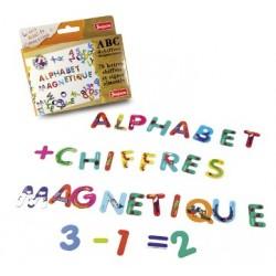 ABC ET CHIFFRES MAGNETIQUES 76 PIECES