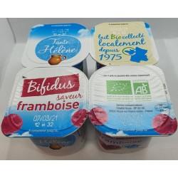 BIFIDUS FRAMBOISE 4X125G