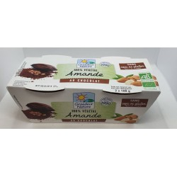 DESSERT AMANDE CHOCOLAT 2X100G