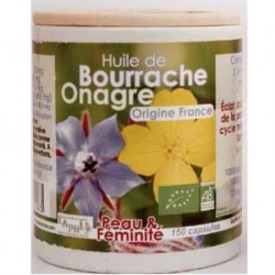 CAPSULES HUILE ONAGRE BOURRACHE 150X742.5MG