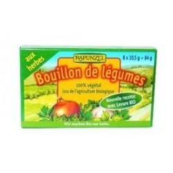 BOUILLON CUBE LEGUMES AUX HERBES 88G