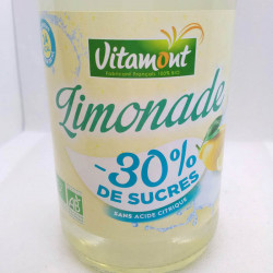 LIMONADE 30% DE SUCRE EN MOINS 75CL