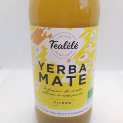 BOISSON INFUSEE MATE GLACE CITRON 33CL