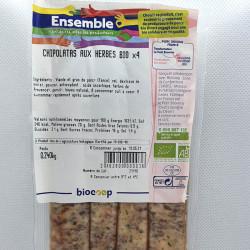 CHIPOLATAS AUX HERBES (4) 240 G