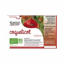 SIROP 25CL COQUELICOT