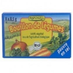 BOUILLON DE LÉGUMES PAUVRE EN SEL EN CUBES 8 X 8.5 GRS