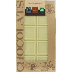 CHOCOLAT BLANC 100 GRS