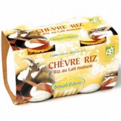 CHÈVRE RIZ 2X125G