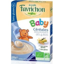 CEREALES VANILLE BABY 200G