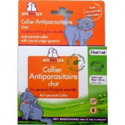 ANTIPARASITE CHAT COLLIER