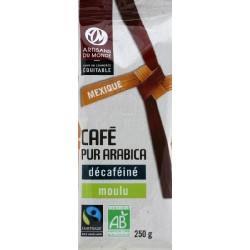 CAFE DECAFEINE DU MEXIQUE 250G