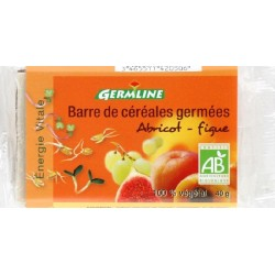 BARRE CEREALES GERMEES ABRICOT FIGUE 33G