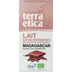 CHOCOLAT LAIT 50% MADAGASCAR 100GRS