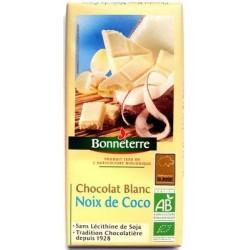 CHOCOLAT BLANC COCO 100G